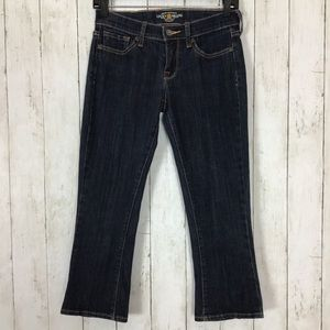Lucky Brand Charlie Baby Boot Cut Jeans Cropped